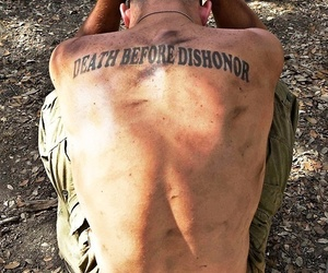 army, tattoo, and boy image