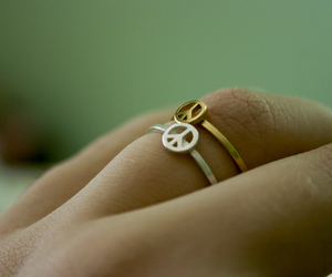 gold, hippie, and ring image