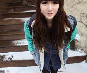 model, ulzzang girl, and park hyo jin image
