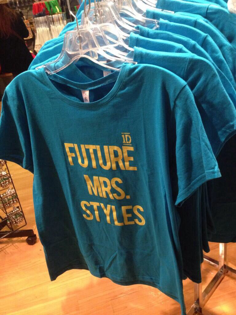 One Direction Tee Future Mrs Styles