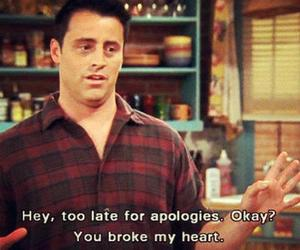 friends, heart, and Joey image
