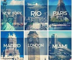 london, paris, and Miami image