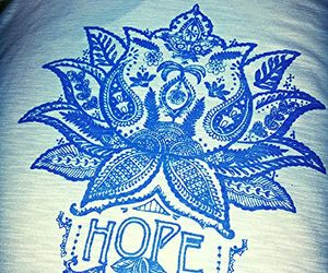 blue, hope, and good vibes image