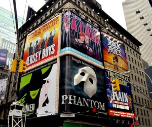 broadway, new york, and jersey boys image