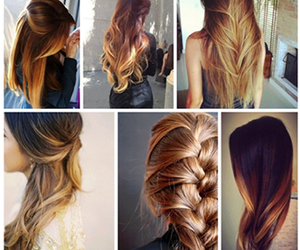 braid, curly, and girls image