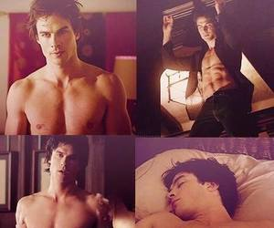 handsome, ian somerhalder, and shirtless image