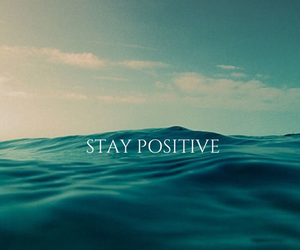 positive, sea, and quotes image