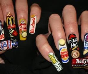 nails, food, and subway image