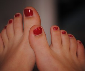 nails, toes, and paint image