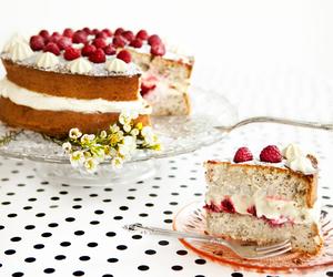 lemon, mascarpone, and cake image