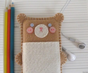 bear, crafts, and cute image