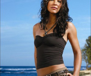 beach, evangeline lilly, and kate image