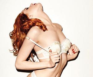 bra, underwear, and woman image
