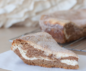 snickerdoodle, cream cheese, and pie image