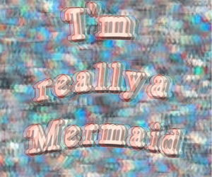 mermaid, grunge, and cool image