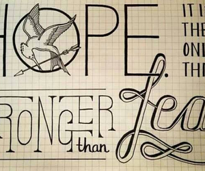 hope, fear, and strong image