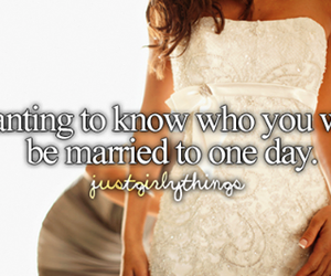 love, married, and wedding image