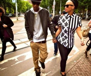 wiz khalifa, Amber Rose, and couple image