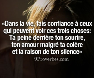 confiance, silence, and amour image