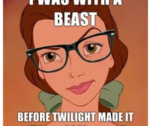 twilight, disney, and beauty and the beast image