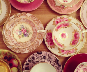 tea cups and cute image