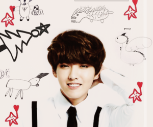 drawings, exo k, and exo m image