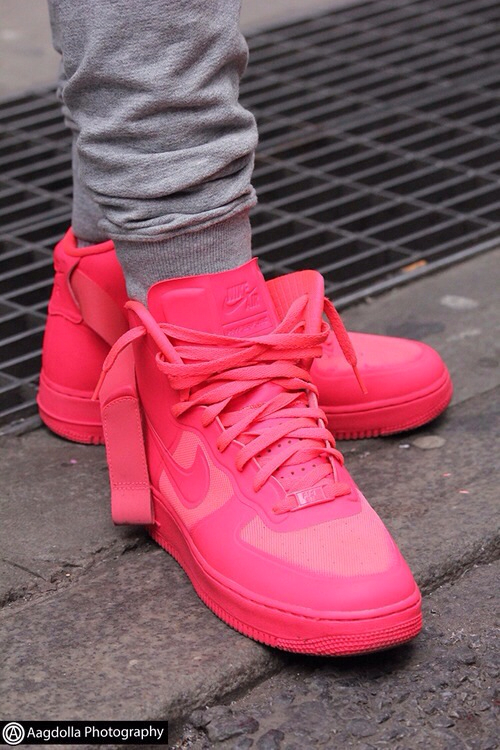 release date for whole family authentic quality hot pink nikes uploaded by A M A L on We Heart It