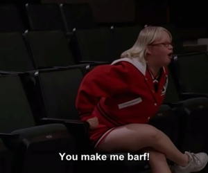 becky, glee, and subtitles image