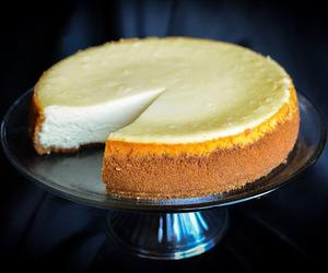 cake, cheesecake, and vanilla image