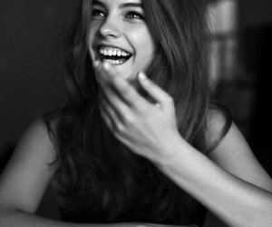 barbara palvin, model, and smile image
