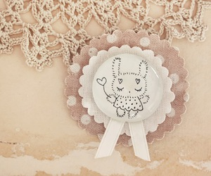 brooch, bunny, and kawaii image
