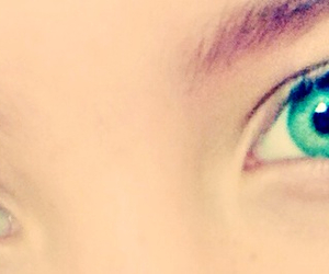 eyes, green, and pretty image