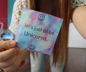 unicorn, tumblr, and quotes image