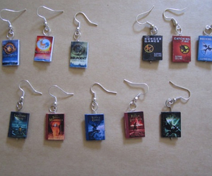 books, hunger games, and percy jackson image