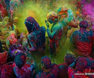colors, india, and festival image