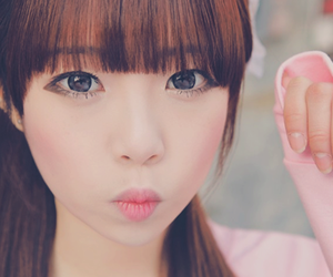 asian, lens, and cute image