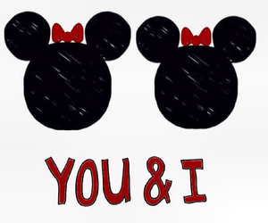 you and i and love image