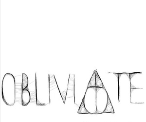 obliviate, harry potter, and magic image