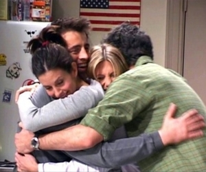 friends and hug image