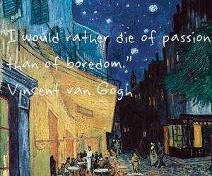 quote, passion, and art image