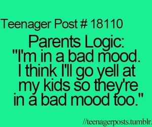 parents, teenager post, and kids image