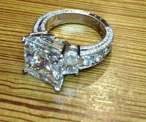 ring, diamond, and huge image