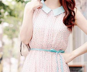 cute, dress, and kfashion image