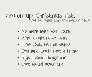 Grown up christmas list discovered by lala_land