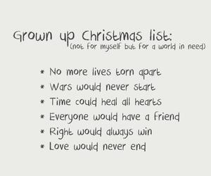 christmas list image