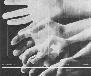 graphic, hands, and black and whire image
