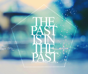 quote, past, and frozen image