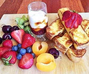 breakfast, fruit, and snack image