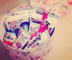 chocolate, kinder, and bueno image