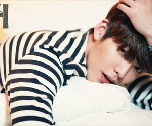 kim woo bin, korean, and actor image